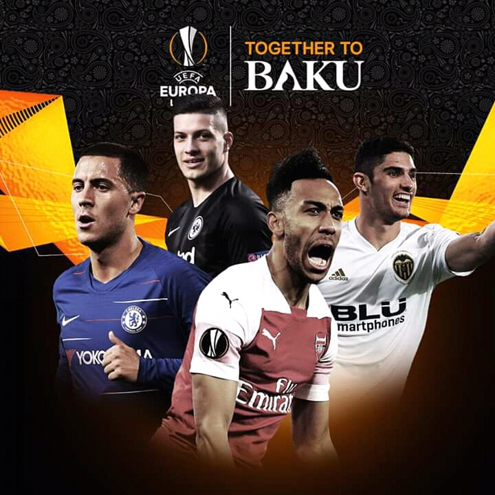 UEFA Europa League Semi-Finals Draw 2018/2019