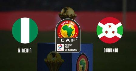Nigeria vs Burundi (1-0) - Africa Cup of Nations 2019 - Full Time image