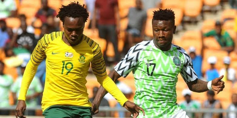 Nigeria beat South Africa 2-1 to proceed to AFCON 2019 Semi Final