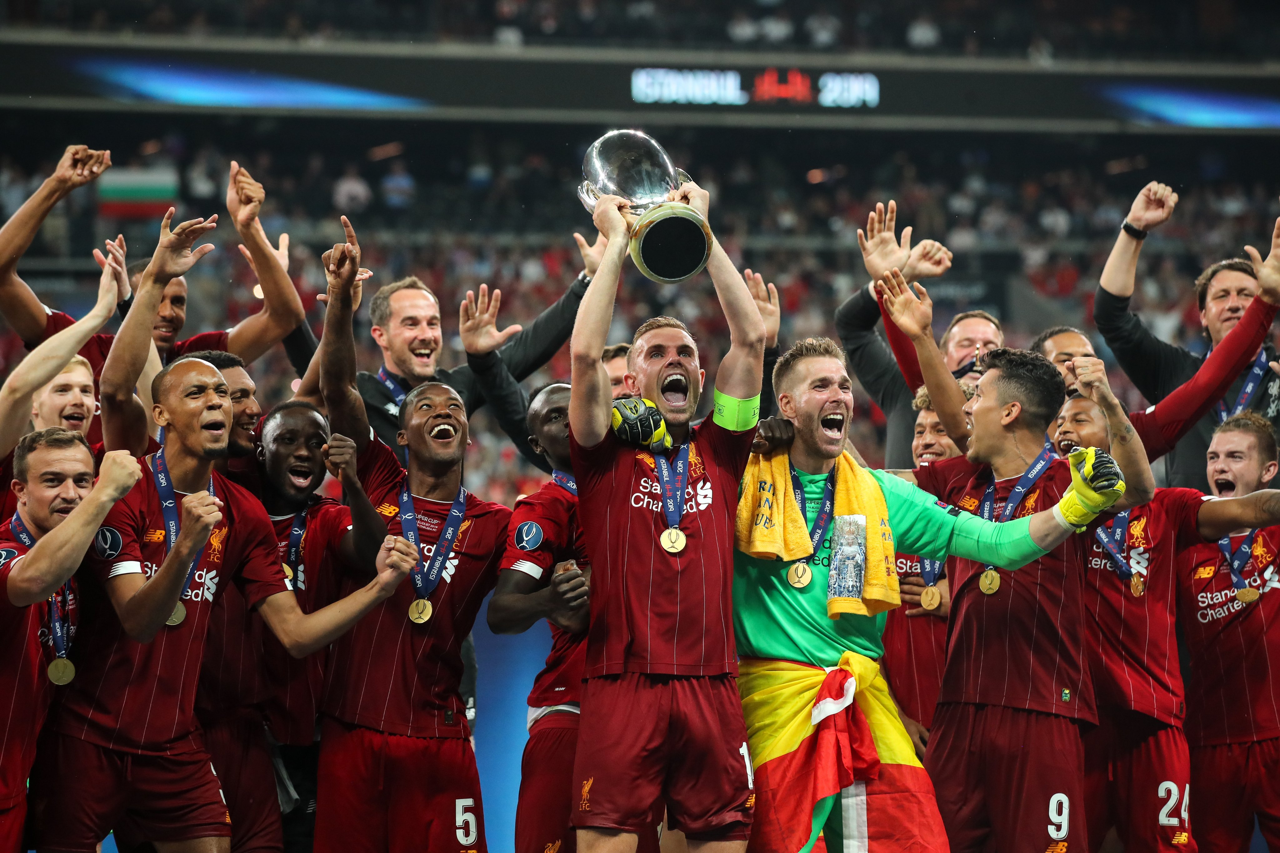 Photos: Liverpool win UEFA Super Cup 2019 beating Chelsea 2-2 (5-4) AP image