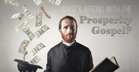 Prosperity Gospel: Church preachers no longer talk about morality! But wealth!