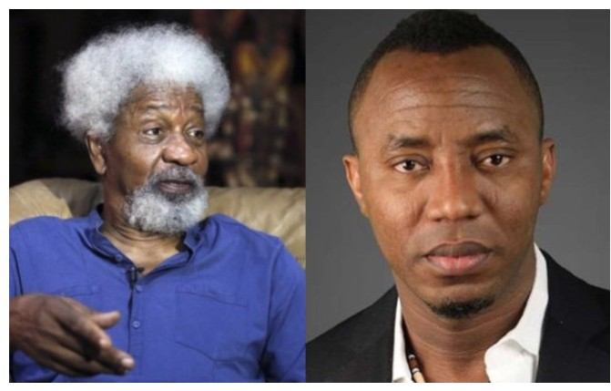 Sowore's charges confirm Buhari government's unprecedented level of paranoia — Wole Soyinka